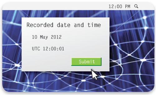 Recorded Date and Time