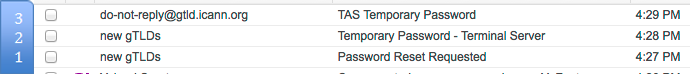 Temporary Passwords