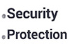 .SECURITY .PROTECTION Logo